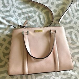 Blush pink Kate spade purse